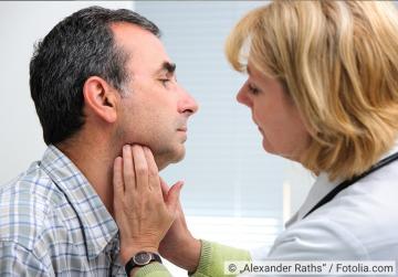 halsschmerzen beim gähnen