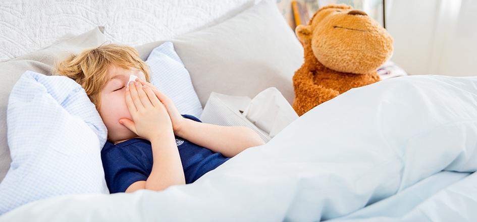 Sinusitis bei Kindern: Anzeichen & Behandlung